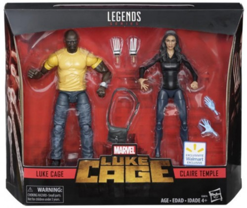Action Figures Marvel Legends Netflix Luke Cage & Claire Temple 2 Pack-Luke Cage-