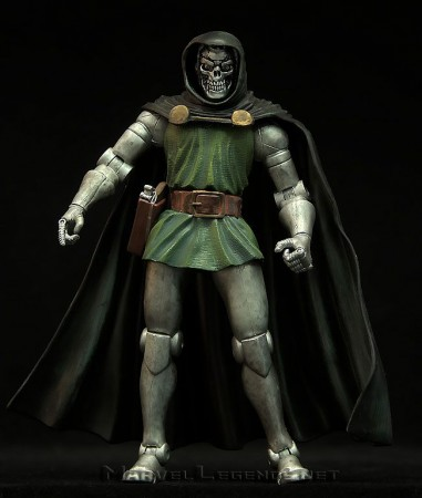 Action Figures Marvel Legends Series 2 Doctor Doom Doombot Variant Doutor Destino - Marvel Comics - #