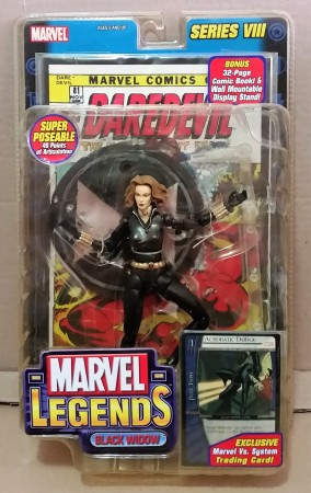 Action Figures Marvel Legends Series 8 Black Widow 2 Variant Yelena Belova Viúva Negra-Marvel Comics-