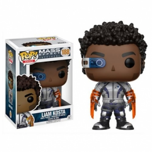 Mass Effect Andromeda Liam Kosta Funko Pop! - Mass Effect - #188