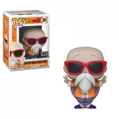 Funko Pop Master Roshi - Peace Sign-dragon ball Z-381