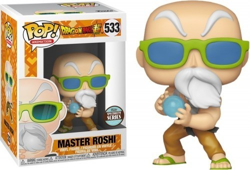 Funko Pop Master Roshi (mestre Kame)-Dragon Ball Super.-533