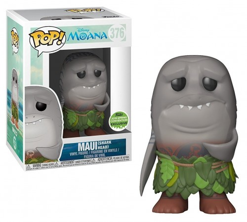 Funko Pop Maui Shark Head Eccc-Moana-376