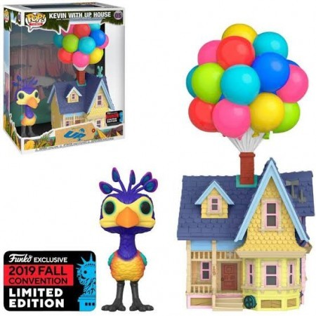 Funko Pop Kevin With Up House-UP Altas Aventuras-5