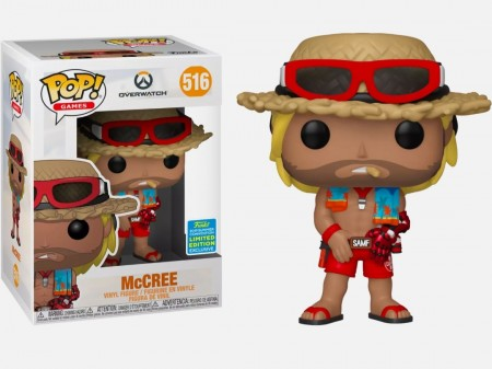 Funko Pop Mccree Excl. Sdcc 2019-Overwatch-516
