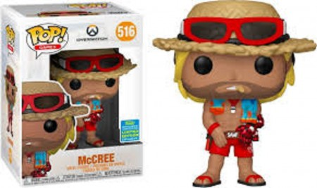 Mccree Overwatch Summer Convention Funko Pop!-Overwatch-516