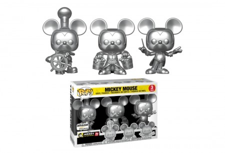Funko Pop Mickey Mouse 90th Silver-Mickey 90 Years-3