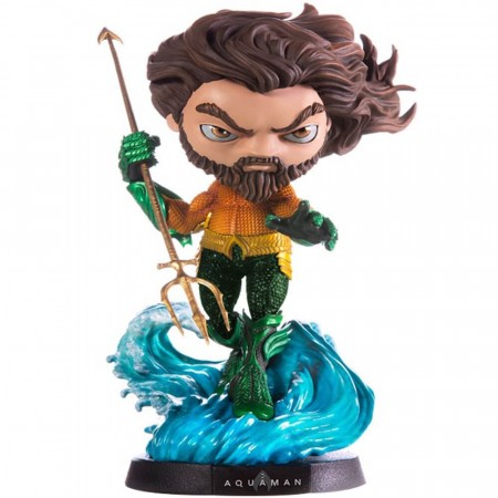 Action Figures Minico Deluxe Movie: Aquaman-Aquaman-