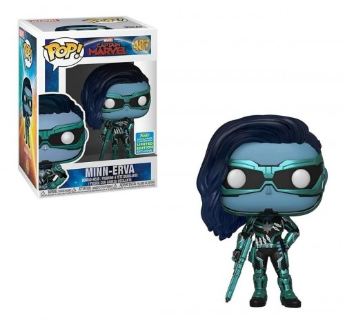 Funko Pop Minn-erva-Captain Marvel-487