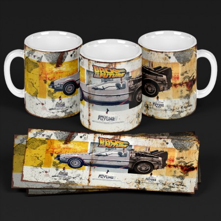Caneca Back To The Future - Filmes - #