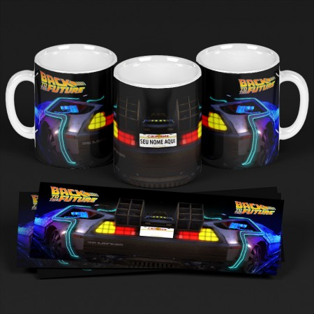 Caneca Back To The Future-Back to the Future-