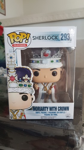 Funko Pop Moriarty With Crown-Sherlock Holmes-293