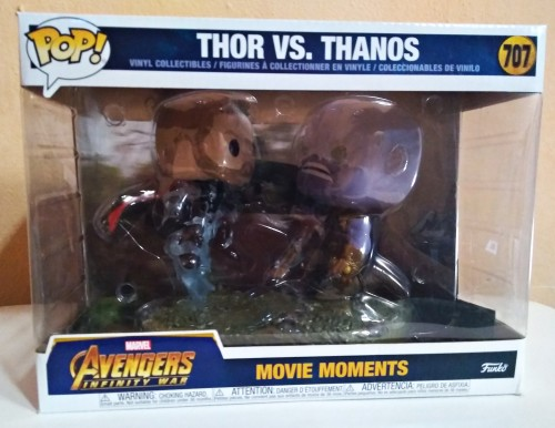 Funko Pop Movie Moments Thor Vs Thanos - Vingadores - #1