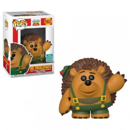 Funko Pop Mr. Pricklepants - Summer Convention 2019-Toy Story 4-562