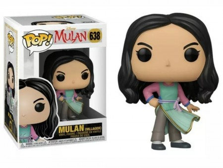 Funko Pop Mulan (villager)-Mulan-638