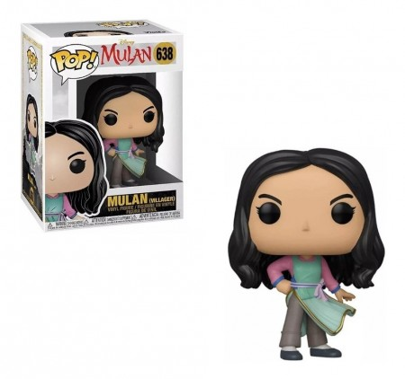 Funko Pop Mulan (villager)-Disney Mulan-638
