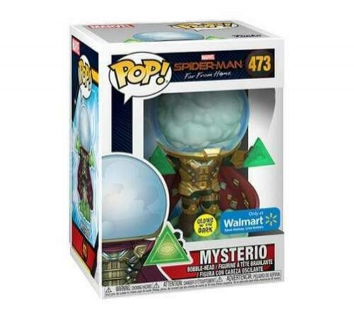 Mysterio - Spider-man - Gitd - Marvel - Funko Pop! Exclusivo Walmart-Spider-man Far From Home-473
