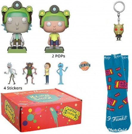 Funko Pop Mystery Box Blips And Chitz - Rick & Morty-Rick And Morty-416