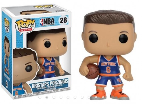Funko Pop Nba Kristaps Porzingis New York Knicks Basquete-NBA-28