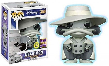 Funko Pop Negatron - Gitd - Summer Convention 2017-Disney-300