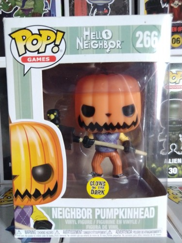 Funko Pop Neighbor Pumpkinhead-Hello Neighbor-266