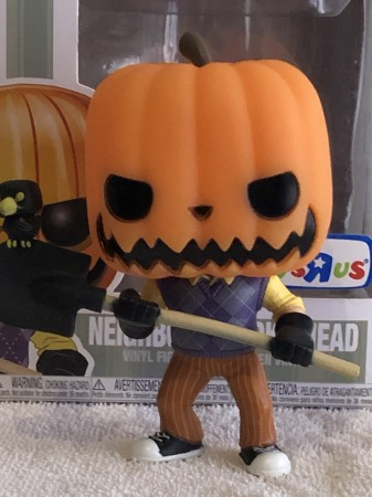 Funko Pop Neighbor Pumpkinhead Glow-Hello Neighbor-266