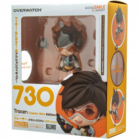 Action Figures Nendoroid Tracer #730-Overwatch-