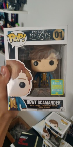 Funko Pop Newt (exclusivo 2016)-Animais Fantásticos-1