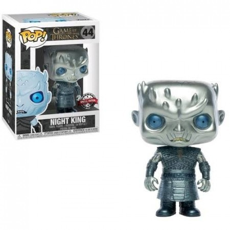 Funko Pop Night King - Metálico-Game Of Thrones-44