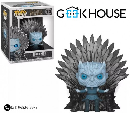 Funko Night King On Iron Throne # 74-Game of Thrones-74