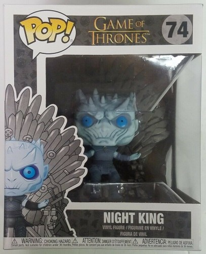 Night King On Iron Throne - Game Of Thrones - Funko Pop!-Game of Thrones-74