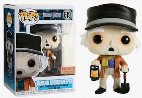Funko Pop Mansion Groundskeeper-HAUNTED MANSION-619