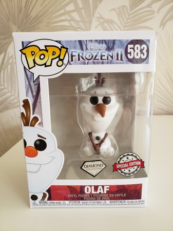 Funko Pop Olaf Diamond-Frozen II-583