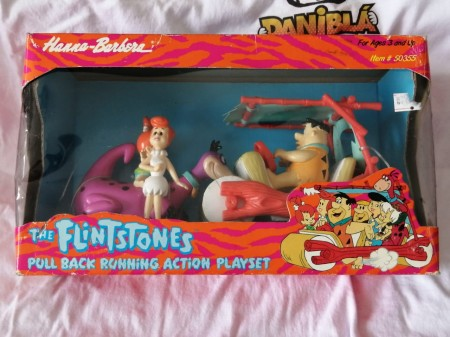 Action Figures Os Flinstones-The Flintstones-