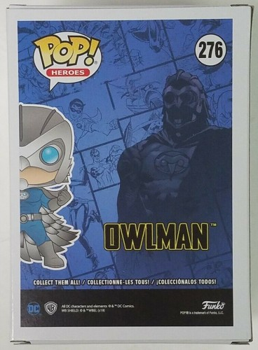 Owlman - Dc Super Heroes - Funko Pop! Heroes Exclusivo - DC Super Heroes - #276