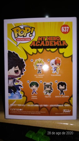Funko Pop Dabi-My Hero Academia-637