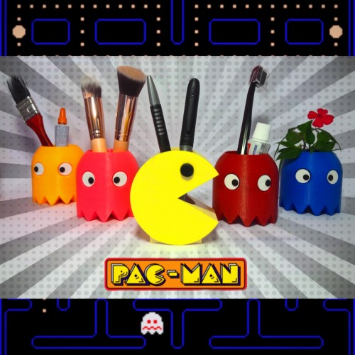 Action Figures Pac Man E Fantasmas (cada Unidade)-Pac Man-