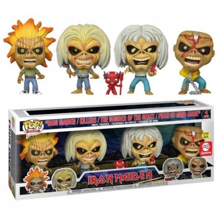 Funko Pop Pack-Iron Maiden-4