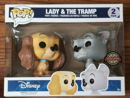 Funko Pop Pack Lady & Tramp (a Dama E O Vagabundo) Especial Edition-Disney-1