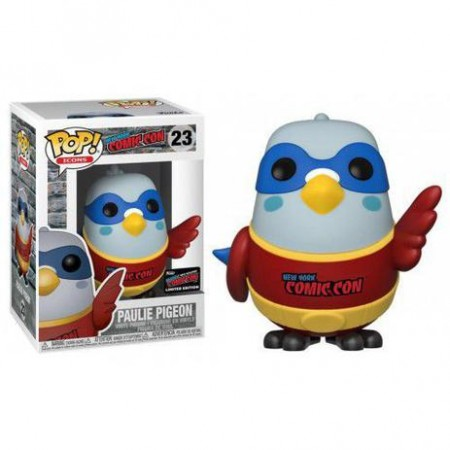 Funko Pop Paulie Pigeon Exclusive 2019 Fall Convention Nycc Limited Edition-ID Icon-23