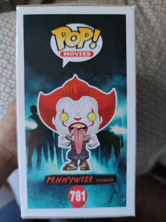 Pennywise Funhouse(blood Splatter) - Excl.  Funko Shop - It Chapter 2 - #781