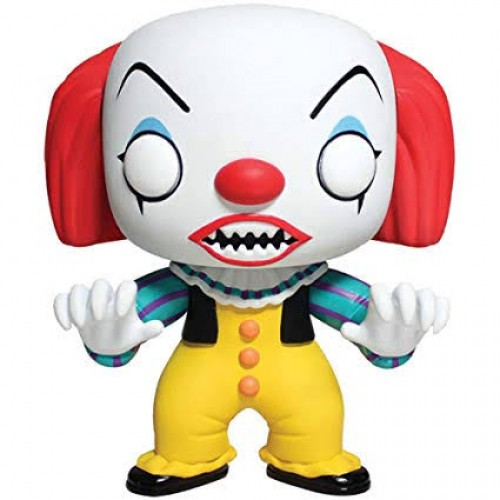 Funko Pop Pennywise It A Coisa Com Protetor-IT A Coisa-55