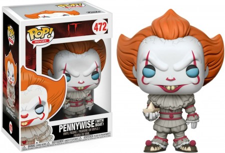 Pennywise With Boat - It A Coisa - Funko Pop! Movies-IT A Coisa-472