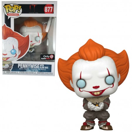Pennywise With Glow Bug - It Chapter 2 - Funko Pop! Game Stop-It Chapter 2-877