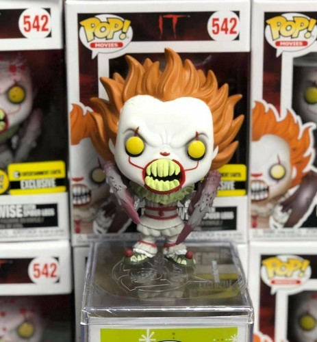 Pennywise With Spider Legs - Glows - It - Funko Pop!-Pennywise-542