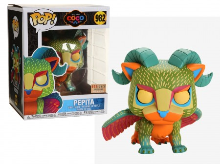 Pepita Glow-in-the-dark Coco Disney Pixar Funko Pop! Exclusivo Boxlunch-Coco – A Vida é Uma Festa-982