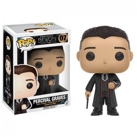 Percival Graves Fantastic Beasts Animais Fantasticos Funko Pop!-Animais Fantásticos-7