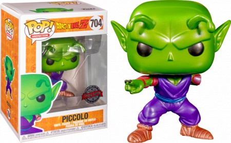 Piccolo With Missing Arm Metálico Dragon Ball Z Funko Pop! Exclusivo-Dragon Ball  Z-704