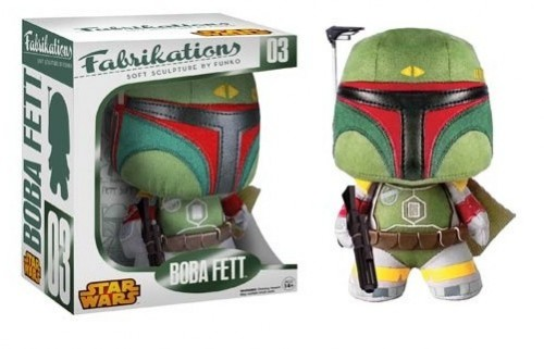 Action Figures Plush Fabrikations Boba Fett-Star Wars-
