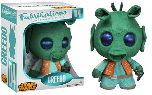 Action Figures Plush Fabrikations Greedo-Stars Wars-
